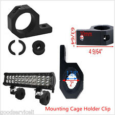 Bumper Tube Clamp Bar Roof Roll Mount Brackets Mounting Cage Holder Clip 2 pcs