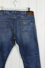 Cotton Regular Distressed Rise 34L Jeans for Men