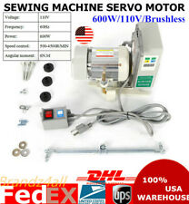 New Listing600W 110V Brushless Servo Motor Energy Saving Mute For Industrial Sewing Machine