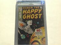 HOMER THE HAPPY GHOST 2 CGC 9.2 WHITE PAGES SUPER HIGH GRADE MARVEL COMICS