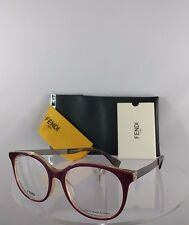 Brand New Authentic Fendi FF 0096/F Eyeglasses DXV Purple Violet Frame