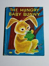 The Hungry Baby Bunny, A Wonder Book,1951(VINTAGE; Children's Hardcover)