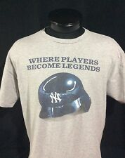 "Majestic New York Yankees ""Where Players Become Legends"" T-Shirt XL"
