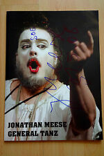 "Jonathan Meese Autogramm signed Katalog ""General Tanz"""