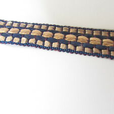 """Rare card of 1960`s Braid 3/4""""wide. 25 Mtrs, Upholstery/Crafts.sold by the mtr."""