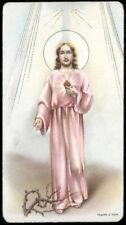 "santino-holy card""""ediz. NB serie EXTRA  n.18 S.CUORE DI GESU'"