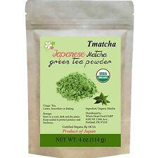 Tmatcha Organic Japanese Matcha Green Tea Powder USDA Organic Certification