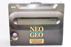 SNK NEO GEO AES Console System Boxed Very Good Condition Tested Japanese Seller