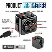 New SQ8 Spy Hidden DV DVR Camera FHD 1080P Mini Car Dash Cam IR Night Vision