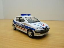 PEUGEOT 206 POLICE NATIONALE 1/43