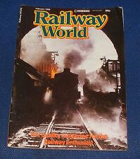RAILWAY WORLD FEBRUARY 1984 - FAIRLIE SINGULAR