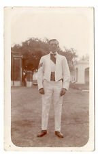 Soldier - At Fyzabad India Real Photo Postcard c1915