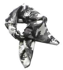 FOULARD UOMO DONNA MIMETICO MAN FAZZOLETTO DA COLLO camouflage Pura SETA M ITALY