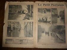 PETIT PARISIEN - 1910 N° 1097 grandes crues de la SEINE vues de PARIS