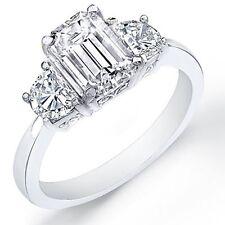 4.26 Ct. Emerald Cut Diamond Engagement Ring EGL