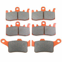 Brake Pads for Can Am Spyder RS/RS-S/RT/RT-S/ST 13-17 Front Rear Carbon Fiber