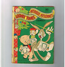 LOONEY TUNES MERRIE MELODIES #15 Gold Age (1943) find presented by Dell!
