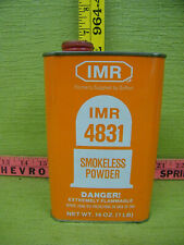 Vintage Imr 4831 Smokeless Powder Canister, Empty