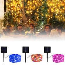 200 LED Solar Fairy String Light Waterproof Copper Wire OutdoorGarden Decor