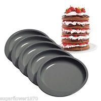 """Wilton Easy Layers 6"""" x 5  Round Cake Pan Set  Baking Tins NEXT DAY DESPATCH"""