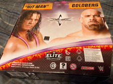 WWE Mattel Elite Legend Series Pack Bret Hitman Hart Goldberg WCW EMPTY BOX ONLY