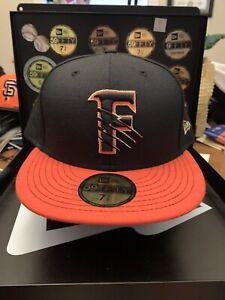 "Fresno Grizzlies New Era 59FIFTY ""Slashed Gold ""F"" Logo"" Hat Size 7-7/8"