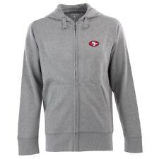 San Francisco 49ers NFL Football New Era Team Full Zip Hoodie NEU Size Medium
