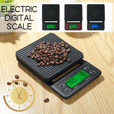 3kg/0.1g Kitchen Digital Coffee Scale LCD Electronic Balance Food Weight  Scales