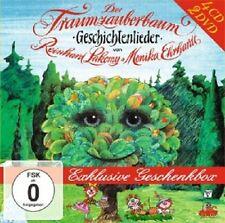 REINHARD LAKOMY - TRAUMZAUBERBAUM GESCHENKBOX  (4 CD + 2 DVD) KINDERLIEDER NEU