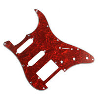Electric Guitar Pickguard for Fender Strat Guitar Pickguard Replacement HSS 3ply