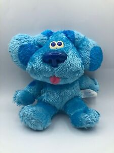 Fisher Price Nickelodeon Totally Blue Blues Clues Dog Plush Stuffed Toy Animal