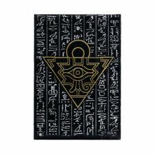 YUGIOH MILLENIUM PUZZLE 50x SLEEVES [BLACK] | OVP YGO Hüllen Kartenhüllen Sleeve