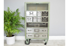 Industrial Chest Drawers Storage Cabinet 107cm tall retro