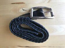 Bally Black Genuine Soft Leather Belt, Rare!