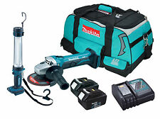 Makita BGA452 - 2x BL1830 - 1x DC18RC - 1x LXT400 Heavy Duty Bag - 1x BML184