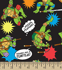 "TEENAGE MUTANT NINJA TURTLES PIZZA TOSS VALANCE CURTAIN APPROX 41"" X 14"""