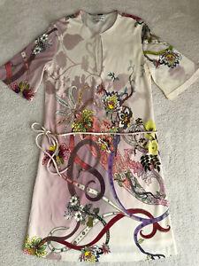 Neuwertig! - ETRO- Elegantes Kleid mit Seide-bunt- Gr. 38-(ital.42)-Top Zustand!