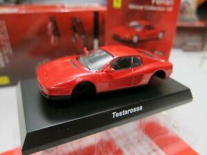 Kyosho - Ferrari 7 Collection - Testarossa - RED - Scale 1/64 - Mini Car - D10