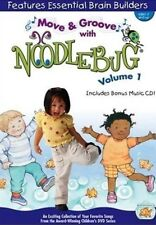 Move and Groove with Noodlebug Vol.1 (DVD + CD 2006) Fun & Educational   NEW