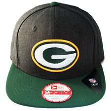 New Era NFL Green Bay Packers Snapback Hat 2tone Color Original Fit Cap
