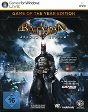 Batman - Arkham Asylum | Game of the Year Edition für PC | NEUWARE | dt.