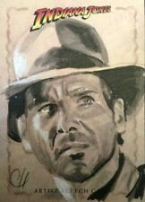 2008 Topps Indiana Jones Heritage Sketch Card Chris Henderson INDY RARE
