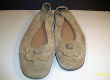 DEXTER LADIES SUEDE SHOES WITH SUEDE BOW...SIZE 10 B