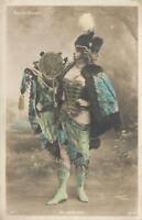 EARLY 1900's ALICE LeFEVRE WALERY DANCER at MOULIN ROUGE FRENCH PHOTO POSTCARD