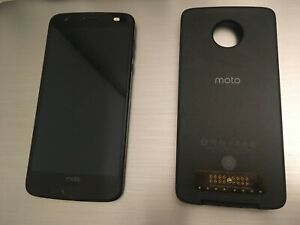 Motorola Z2 Force-64GB-Black (ATT Unlocked) Slightly scratched+Projector Mods