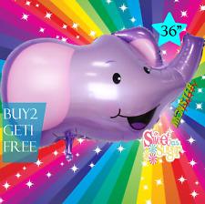 "36"" ELEPHANT SAFARI ANIMAL Centerpiece BALLOON balloons BIRTHDAY PARTY SUPPLY"