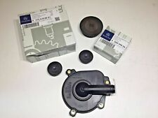 Mercedes-Benz Engine Oil Separator Kit Cover w/Seal + Camshaft Cap Set GENUIINE