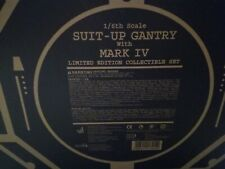 New Hot Toys 1/6 Iron Man 2 Mark 4 MK IV with Suit Up Gantry MMS160