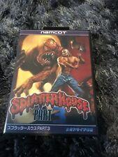 SplatterHouse 3 SEGA Mega Drive JAP Version - Custom Game - Grade AAA+++