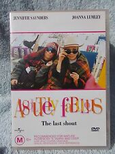 ABSOLUTELY FABULOUS -THE LAST SHOUT JENNIFER SAUNDERS JOANNA LUMLEY M R4